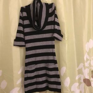 INC sparkly striped Top